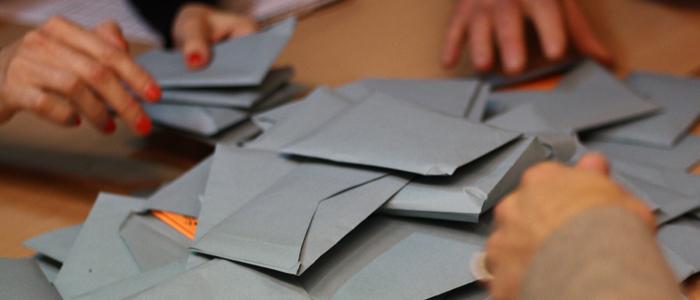 Bulletins de vote Congres